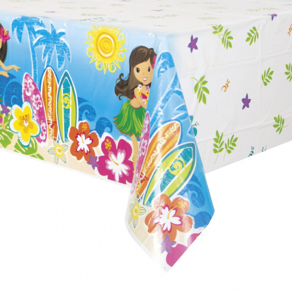 Hula Beach Party - Plastic Table Cover